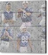 Indianapolis Colts Legends Acrylic Print