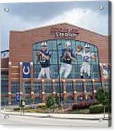 Indianapolis Colts Lucas Oil Stadium Acrylic Print