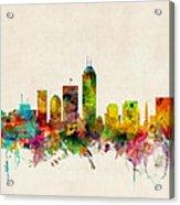 Indianapolis Indiana Skyline Acrylic Print