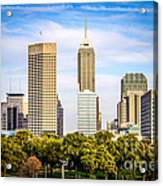 Indianapolis Skyline Picture Acrylic Print