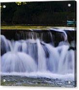 Indianhead Dam - Montgomery County Pa. Acrylic Print