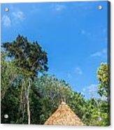 Indigenous Hut Acrylic Print