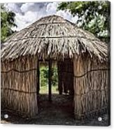 Indigenous Tribe Huts In Puer Acrylic Print