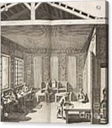Indigo Dye Factory, 18th Century Acrylic Print