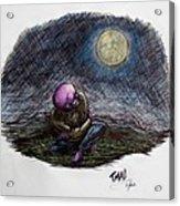 Indigo Night Acrylic Print