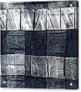 Indigo Squares 1 Of 5 Acrylic Print