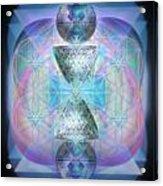 Indigoaurad Chalice Orbing Intwined Hearts Acrylic Print