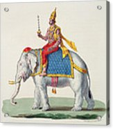Indra Or Devendra, From Linde Acrylic Print