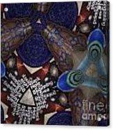 Indra's Web Acrylic Print