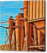 Industrial Detail Photoart Acrylic Print