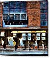 Industrial Grunge 2 Acrylic Print