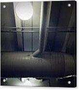 Industrial Interior Acrylic Print