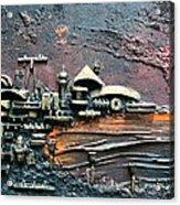 Industrial Port-part 1 By Rafi Talby Acrylic Print