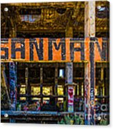 Industrial Strength Graffiti  Acrylic Print