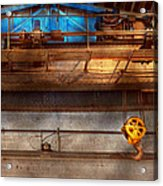 Industrial - The Gantry Crane Acrylic Print
