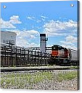 Industrial Train Acrylic Print