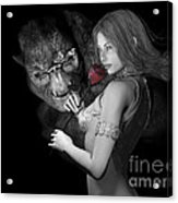 Infatuated  Roses Acrylic Print