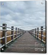 Infinite Boardwalk Acrylic Print