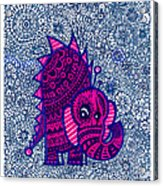 Infinite Pachyderm  Acrylic Print