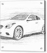 Infinity G37 Coupe Acrylic Print