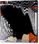 Infinity Kiss Horizontal 2 Acrylic Print