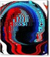 Infinity Mask 3 Acrylic Print