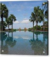Infinity Pool Of Aureum Palace Hotel Acrylic Print