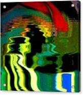 Infinity Rainbow River 1 Acrylic Print