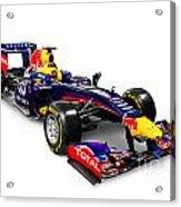 Infinity Red Bull Rb9 Formula 1 Race Car Acrylic Print
