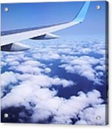 Inflight Entertainment Acrylic Print