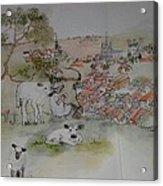Inges Netherland Album Acrylic Print
