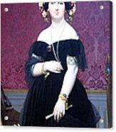 Ingres' Madame Moitessier Acrylic Print