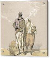 Inhabitants Of Mooltan (aka  Multan) - Acrylic Print
