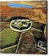 Inishmurray Island County Sligo Ireland Early Celtic Christian Ring Fort Cashel Monastic Settlement  Acrylic Print