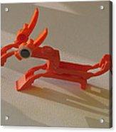ink cartridge Reindeer Acrylic Print by Alfred Ng