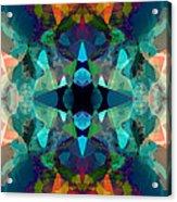 Inkblot Imagination Acrylic Print