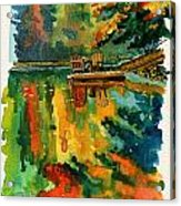Inktober 21 Color Field Acrylic Print