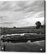 Inle Lake In Burma Acrylic Print