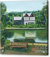 Inn At Lambertville Station Acrylic Print