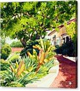 Inn At Rancho Santa Fe Acrylic Print by Mary Helmreich