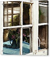 Inn Window Acrylic Print