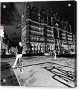 Inner City Cycling  Acrylic Print
