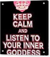 Inner Goddess Acrylic Print