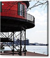 Inner Harbor Lighthouse - Baltimore Acrylic Print