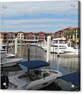Inner Harbor - Naples Acrylic Print