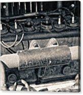 Inner Life Of An Old Car Acrylic Print