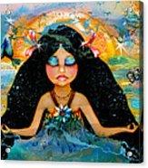 Inner Peace Acrylic Print by Karin Taylor