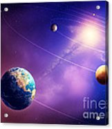 Inner Solar System Planets Acrylic Print