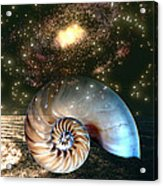 Inner Space Outer Space Acrylic Print