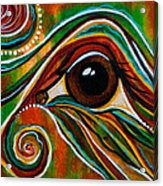 Inner Strength Spirit Eye Acrylic Print